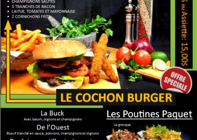 Promo Le Cochon Burger